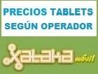 Precios de tablets según operador móvil