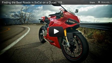 Ride Apart: en busca de la mejor carretera de Los Ángeles en la Ducati 1199 Panigale S
