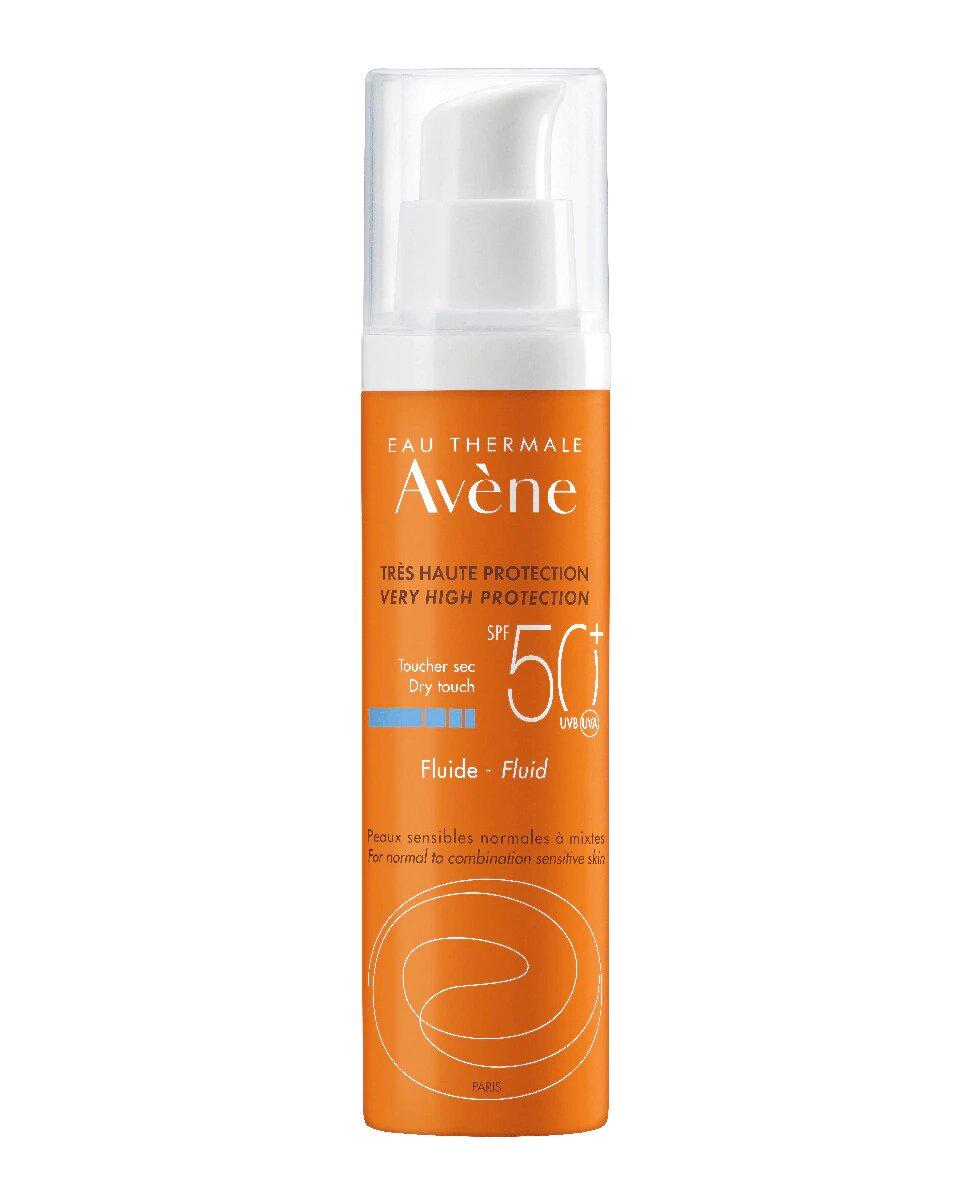 Avène Solar Fluido Sin perfume SPF50+
