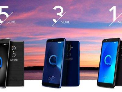 Alcatel apuesta por las pantallas 18:9 y Android 8.0 Oreo para 2018, además nos  presume el primer móvil con Android Go