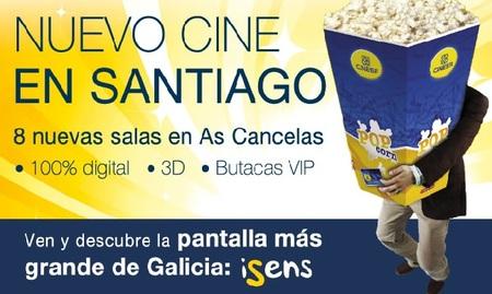 Aprovecha el 2x1 hasta el 30 de noviembre en las nuevas salas Cinesa de Santiago de Compostela