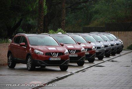 Nissan Qashqai y Qashqai+2 1.6 dCi, presentación y prueba en Málaga