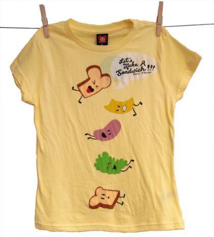 Camiseta sandwichera