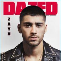 Zayn Malik por fin con su color de pelo natural en la portada de la revista Dazed
