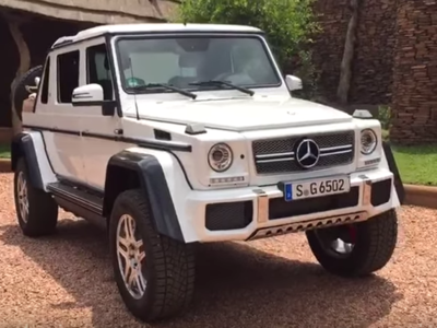 Se filtra un video con el posible Mercedes-Benz G65 AMG 4X4² V12 Convertible