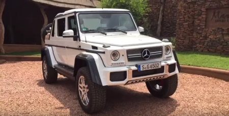 Se filtra un video con el posible Mercedes-Benz G65 AMG 4X4² V12 Convertible