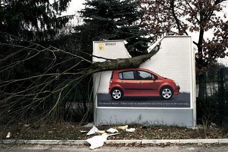 Renault Modus, irrompible