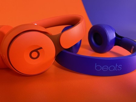beats solo pro naranja y azules