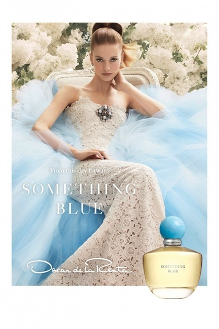 Oscar de la Renta presenta Something Blue, su nueva fragancia
