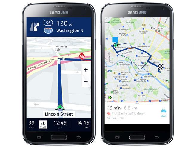 Los mapas de HERE llegan a Samsung: ¿en qué otros dispositivos están disponibles en la actualidad?