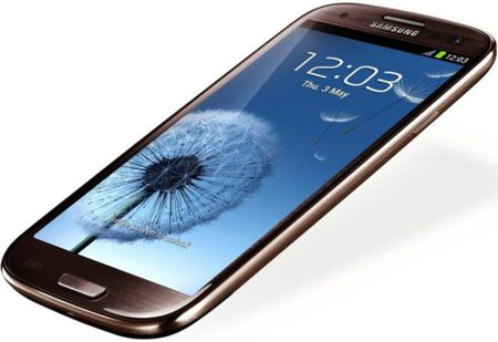 Samsung Galaxy S3 marrón