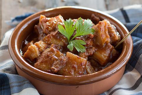 Callos a la vizcaína, receta tradicional vasca