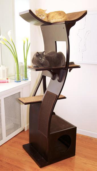 Tu gato tambi n quiere muebles de dise o hazle caso for Papel adhesivo decorativo para muebles