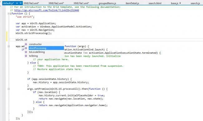 herramientas programar en Windows 8