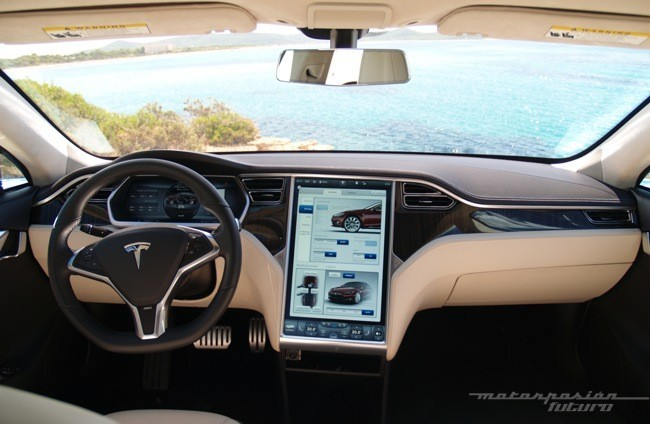 Tesla Model S prueba en Ibiza 21
