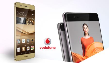 Precios Huawei P9 Plus en color gold exclusivo con Vodafone y Precios Huawei P9 Lite en blanco