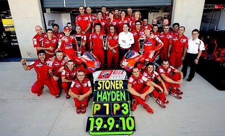 MotoGP 2010: Ducati, el aliado inesperado de Dani Pedrosa