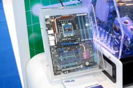 Asus P6X58 y MARS GTX295 en la Computex 2009