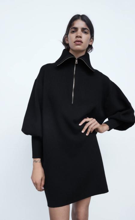 Vestido Punto Zara5