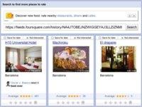 Google Places permite importar nuestros historiales de Foursquare usando un feed RSS