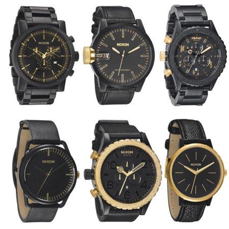 Relojes Nixon Gold