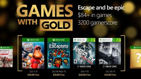 The Escapists y I Am Alive como lo más destacado en los Games with Gold de octubre