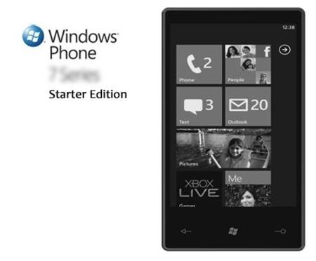Windows Phone Starter Edition, el tercer sistema operativo de Microsoft