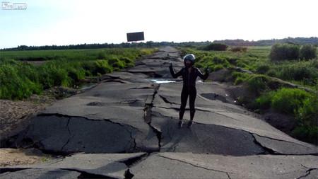 La peor carretera del mundo está en Rusia