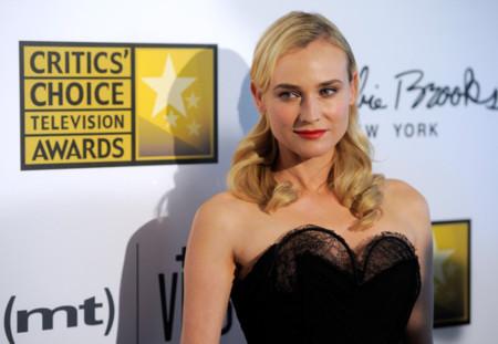 Diane Kruger no necesita estar nominada a los Critics' Choice Television Awards 2013 para deslumbrar