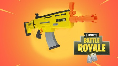 Fortnite Nerf Gun Irl Scar Ar Buy Hasbro