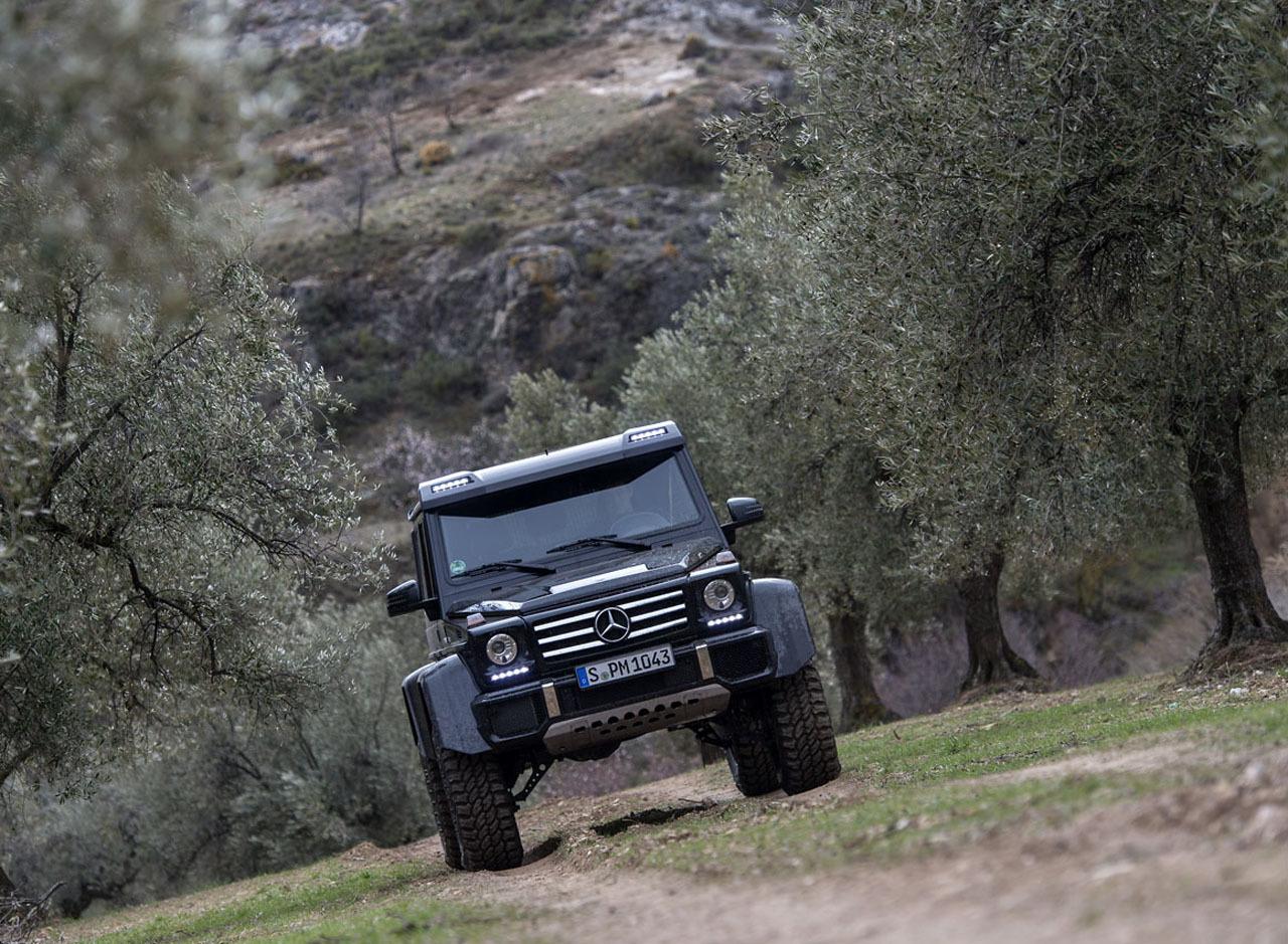 Foto de Mercedes-Benz G 500 4x4², toma de contacto (70/127)
