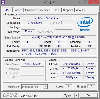 Mountain Light 144G CPUz