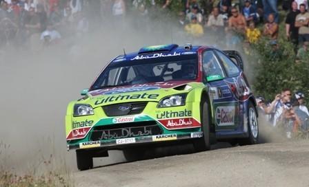Ford ofrece un test con un Focus WRC a Kimi Raikkonen