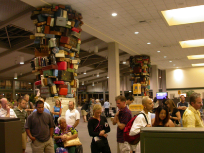 La imagen de la semana: torres de equipaje