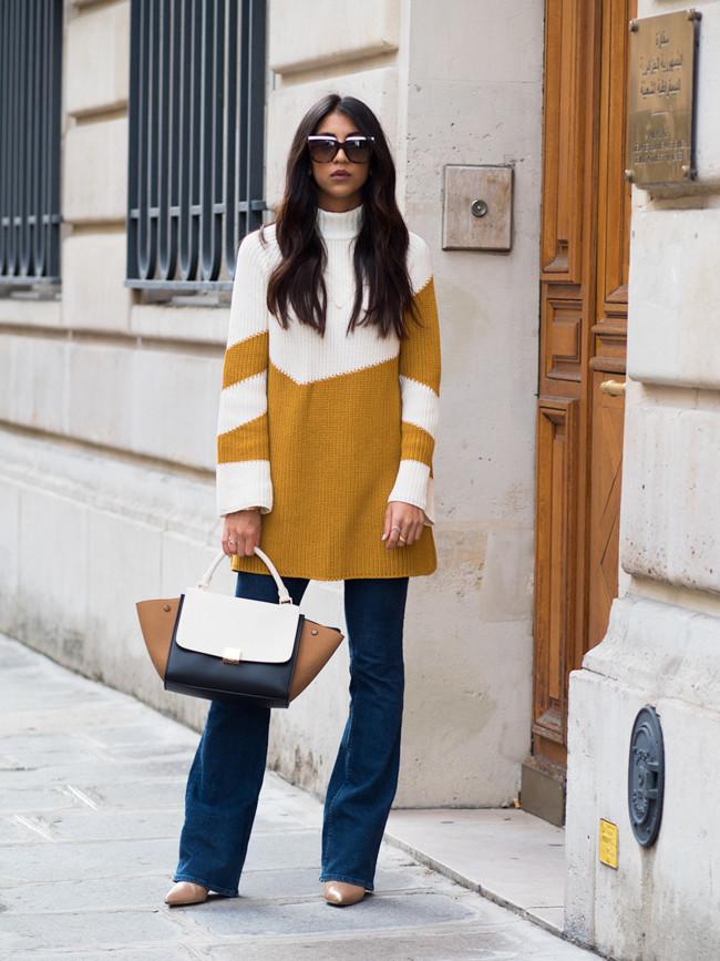 Mostaza Tendencia Otono Invierno 2015 2016 Looks Street Style 1
