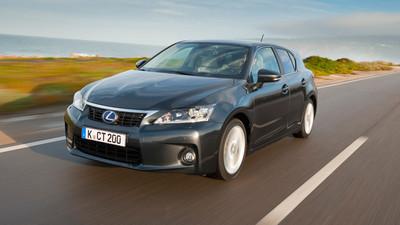 Lexus CT200h, ahora a precio de Prius (23.900 euros)