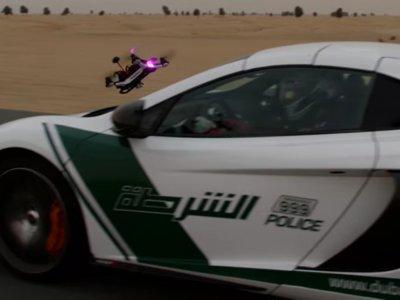 McLaren 650s vs Drone de carreras: La épica carrera que sólo podía ser posible en Dubai