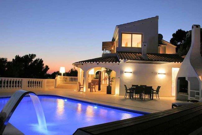 Casa de lujo son bou en alayor menorca con vistas al mar - Casas de lujo en menorca ...