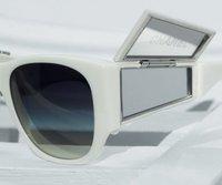 Gafas de sol de Chanel con espejo integrado