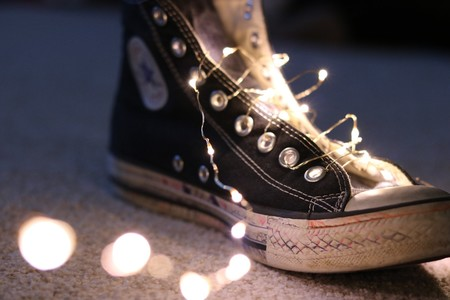 Photo Of String Lights On Shoe 2250628