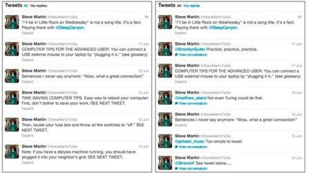 Twitter ocultará las replies de los perfiles de las cuentas verificadas