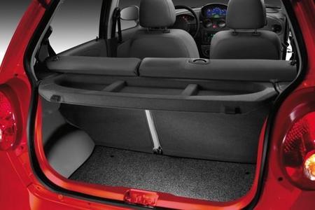 La cajuela del Chevrolet Matiz
