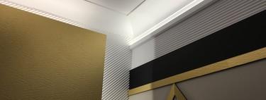 Las decoración con molduras protagonista en cuatro de los espacios más destacados de Casa Decor