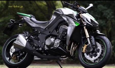 Salón de Milán 2013: se deja ver la nueva Kawasaki Z1000 en fotos y vídeo