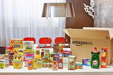 Amazon comienza a vender también alimentación y droguería en España. ¡No voy a salir de casa!