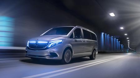 Este Mercedes-Benz Concept EQV es el futuro Clase V eléctrico: batería de 100 kWh y 400 km de autonomía