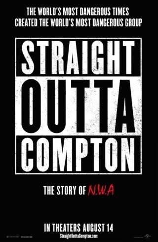 'Straight Outta Compton', tráiler y cartel de la película sobre la banda de rap N.W.A.