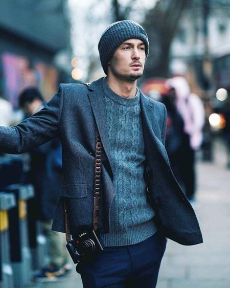 Los Hombres Mas Elegantes De Londres Le Hacen Frente Al Frio Con La Armadura Perfecta El Abrigo 03