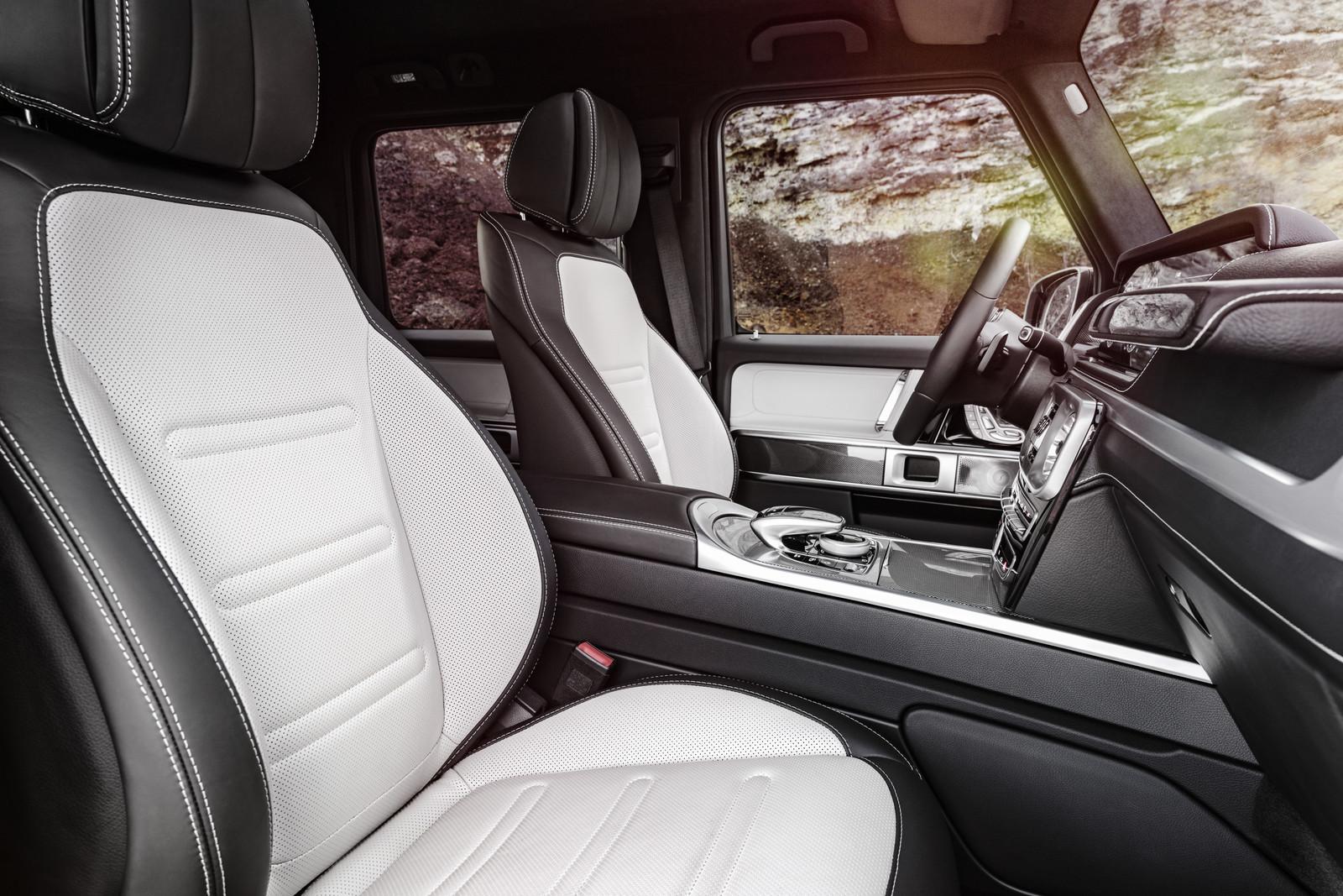 Mercedes-Benz Clase G 2018 - Interior