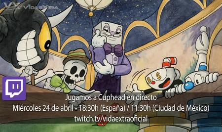Streaming de Cuphead a las 18:30h (las 11:30h en CDMX)